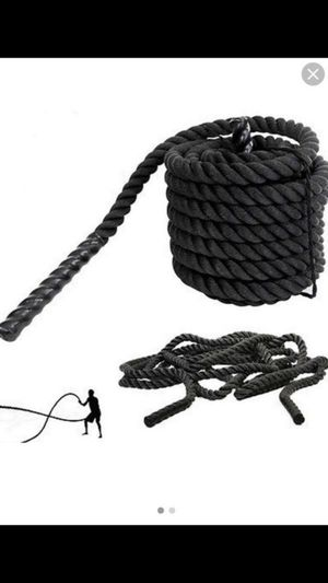 """1.5"""" 30 Ft Strength Training Battle Rope Workout Exercise Fitness Climbing Rope for Sale in Pomona, CA"""