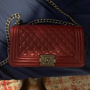 Red Chanel Bag for Sale in College Park, MD