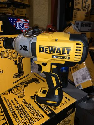 """Brand new dewalt brushless xr 7/16"""" high torque impact wrench with quick release chuck (tool only) firm no menos for Sale in Plant City, FL"""