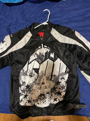 Icon motorcycle jacket size L for Sale in Chelmsford, MA