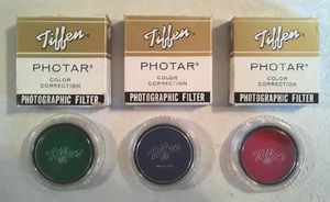 3 Tiffen Photar Lens Filters For Vintage & Antique Cameras New in Box for Sale in Hollywood, FL