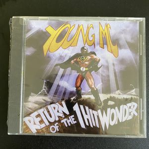 Return of the 1 Hit Wonder by Young MC Vintage 90s Hip Hop Rap CD New & still shrink wrapped for Sale in Bradenton, FL
