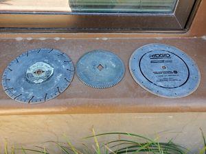3 Concrete Saw Blades for Sale in Las Vegas, NV