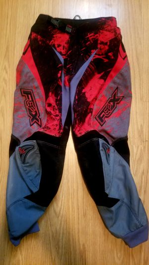 Fox Motocross Pants..Size 26 youth..Like New! for Sale in Modesto, CA