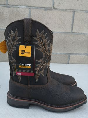 Brand new ariat Soft toe boots size 10.5D for Sale in Riverside, CA