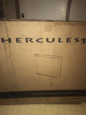 Hercules Low Profile King Sz Bed Frame for Sale in Jackson, OH
