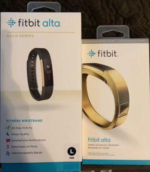 Fitbit Alta gold series wristband/accessory for Sale in Augusta, GA