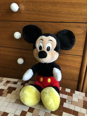 Vintage Walt Disney World & Disneyland Mickey Mouse Plush Stuffed Animal Toy for Sale in Peoria, AZ