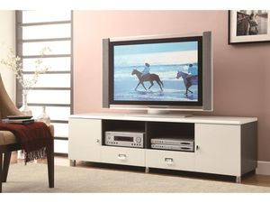 "New white grey glossy 72""W tv stand for Sale in Pompano Beach, FL"