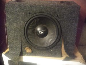 10in MTX 500 watt RMS subwoofer in under the seat box excellent condition works great Asking $25 or best offer for Sale in Columbus, OH