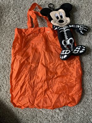 Mickey trick or treat bag for Sale in MAGNOLIA SQUARE, FL