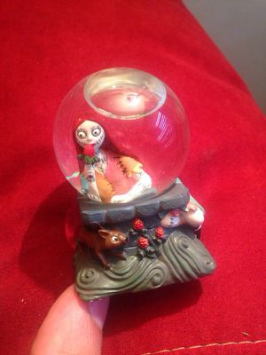 Nightmare before Christmas snowglobe for Sale in West Chicago, IL
