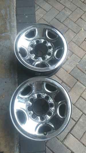 Dodge. Chevy..8 lug rims for Sale in Casselberry, FL