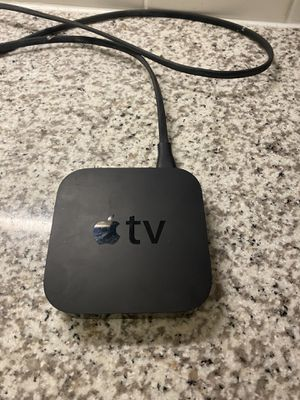 Apple TV and Remote , HDMI cord included for Sale in St. Petersburg, FL