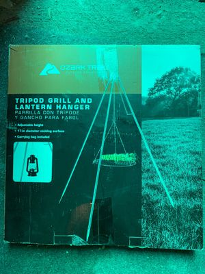 Tripod camping grill tray for Sale in Colorado Springs, CO