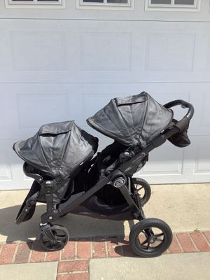 Baby jogger city select double stroller charcoal grey for Sale in La Habra, CA