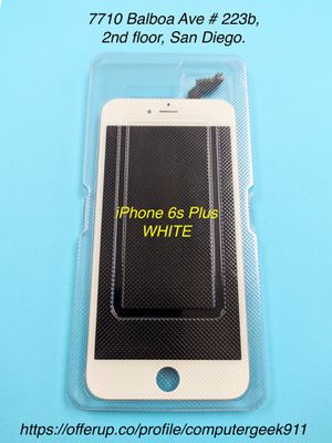 iPhone 6 S PLUS White Screen Replacement for Sale in San Diego, CA