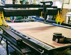 """TT Machines USA CNC Router Plasma table 5'2""""x10'4"""" cutting area turn key free training at time of purchase for Sale in Tarpon Springs, FL"""