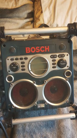Bosch powerbox , stereo , drill battery charger for Sale in Hermiston, OR