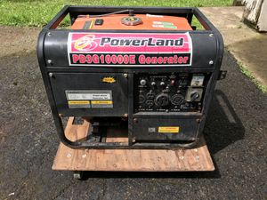 Powerland 10k generator propane and fuel for Sale in Columbus, OH