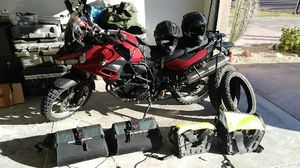 Motorcycle 2013 BMW 800GS. 15p000 miles comes with two water proof saddlebags for Sale in Chula Vista, CA