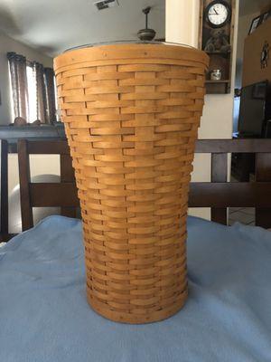 Longaberger umbrella basket for Sale in Mesa, AZ