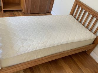 Twin Bed, Frame And Mattress for Sale in Boston,  MA