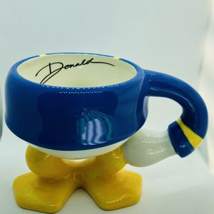 Disney Parks Donald Duck Feet Coffee Mug Cup with signature for Sale in Cockeysville, MD