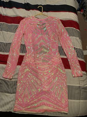 Beautiful pink /nude dress never worn for Sale in Roselle, IL