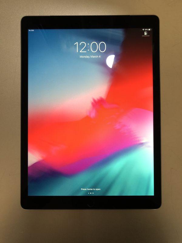 """iPad Pro 12.9"""" Black 128gb WiFi & 4G LTE UNLOCKED $480"""