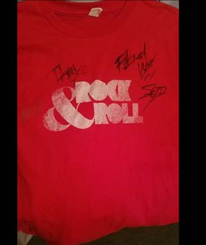Autograph T-shirt from P.O.D for Sale in Marengo, OH