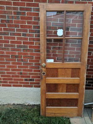 Solid Pine Wood Front and rear doors for Sale in Milford Mill, MD