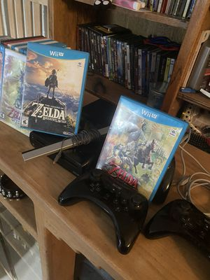 Wii U & huge lot of collector games. for Sale in Peoria, AZ