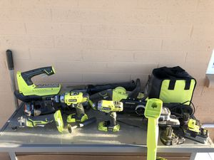 Ryobi Cordless Power Tools for Sale in Glendale, AZ