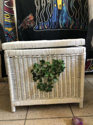 Wicker box for Sale in Largo, FL