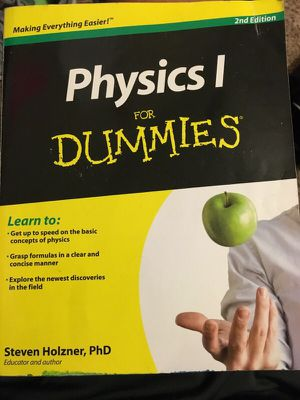Physics 1 for dummies for Sale in Tyler, TX