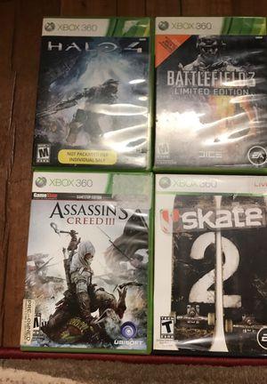 4 Xbox 360 games for Sale in Nashville, TN