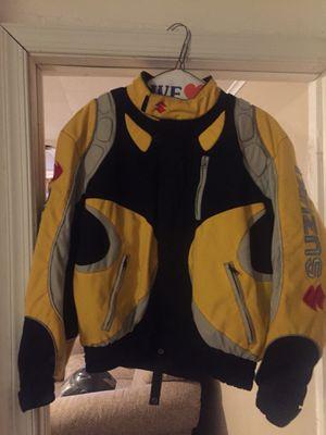 Suzuki motorcycle jacket for Sale in Matamoras, PA