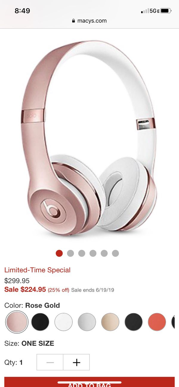 Brand new Beats solo 3 wireless