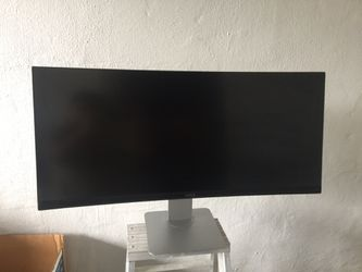 """Dell 34"""" ultra wide curved monitor. U3415 for Sale in San Francisco,  CA"""