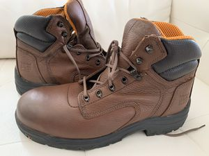 Timberland Work Boots (Steel Toe) Slip and Oil Resistance for Sale in Katy, TX