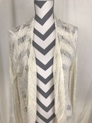 Guess Lightweight Cream Open Cardigan - Size XS for Sale in South Windsor, CT