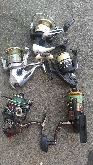 Fishing reels and tackle for Sale in St. Petersburg, FL