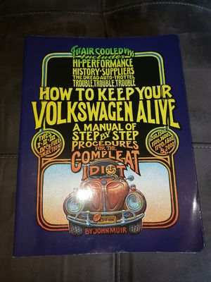 How to keep your Volkswagen alive - idiot guide - how to guide for Sale in Fort Hood, TX