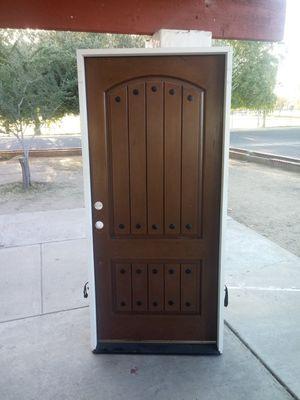 Frony door exterior door barn door 36x80 std for Sale in Phoenix, AZ