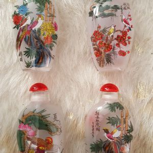 set-of-4 ASIAN-SMALL-PERFUME-BOTTLES for Sale in Chaparral, NM