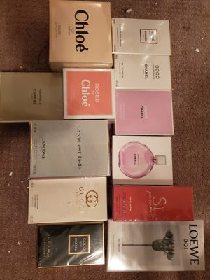 CHANEL, CHLOE, LANCOME, GUCCI, ARMANI, LOEWE. Brand Name Perfumes for SALE! for Sale in Federal Way, WA