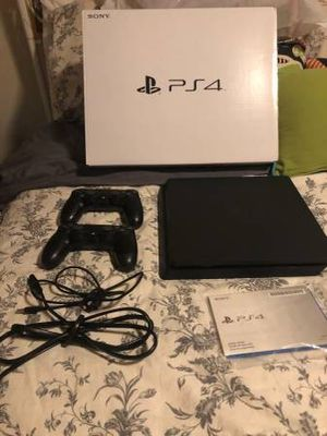 Sony ps4 video game system with 2 controllers box and manuals for Sale in Gaines, PA