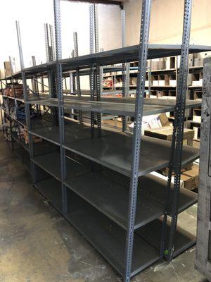 Heavy duty storage metal shelf all size for Sale in Doral, FL
