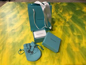Tiffany & Co. Sterling Silver heart earrings for Sale in Costa Mesa, CA